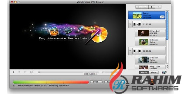 Wondershare DVD Creator 6.2 Portable Free Download