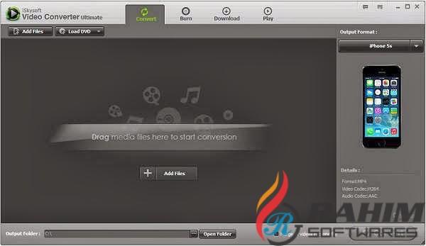 iSkysoft Video Converter Ultimate 11.5 Portable Free Download