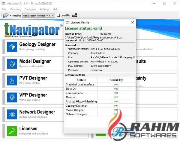 tNavigator 19.1 Free Downoad
