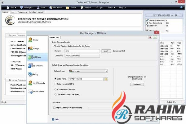 Cerberus FTP Server Enterprise 11.0 Free Download
