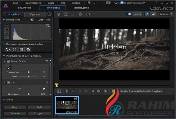 ColorDirector Ultra 8.0 Free Download