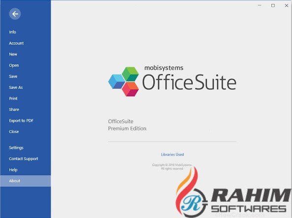 OfficeSuite Premium Edition 3.70 Portable Free Download