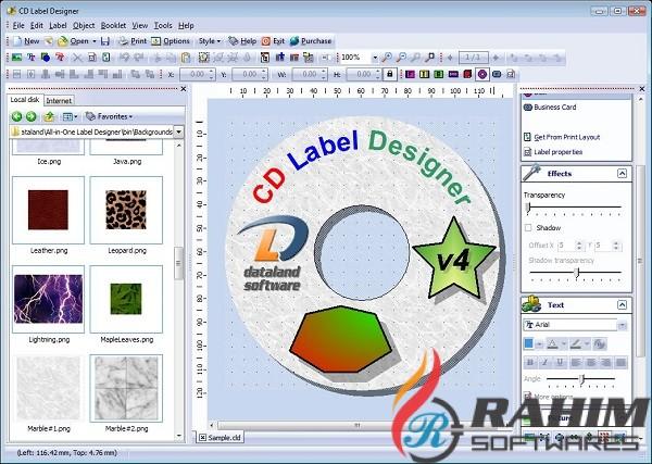 CD Label Designer 2020 v7.2 Free Download