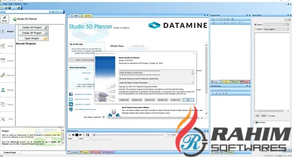 Datamine Studio 5D Planner 14.26 Free Download