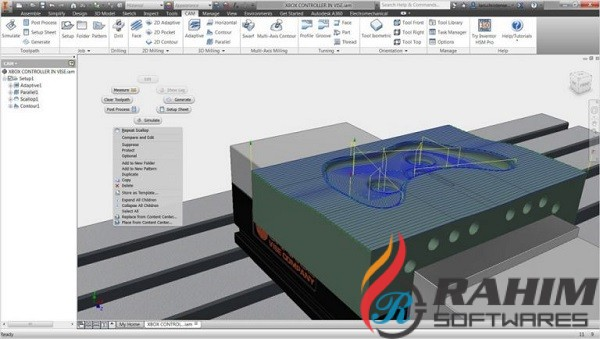 InventorCAM 2019 SP2 HF6 Free Download