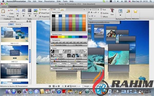 Aurora 3D Presentation 20 Free Download
