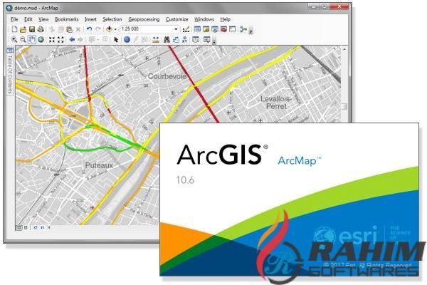 ArcGIS Desktop 10.6 Download