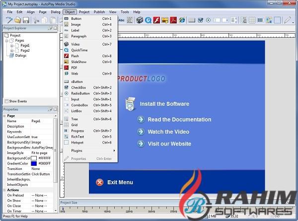 AutoPlay Media Studio 8.5 Portable Free Download