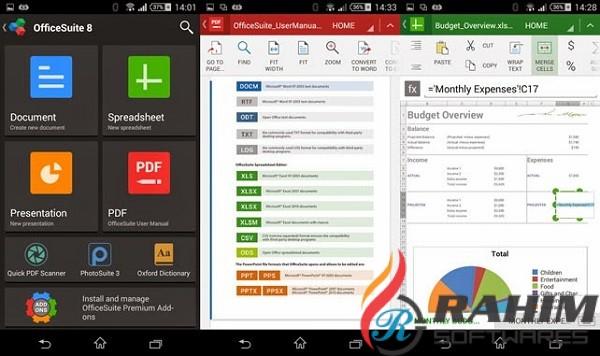 OfficeSuite Premium 4.0 Portable Free Download