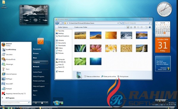 Windows 7 AIO Jan 2020 ISO Free Download