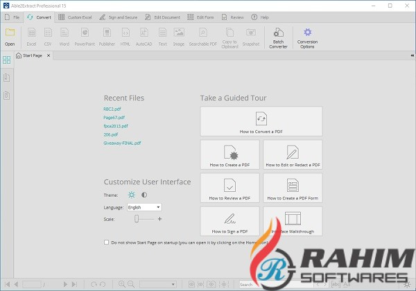 Able2Extract Professional 15 Portable Free Download