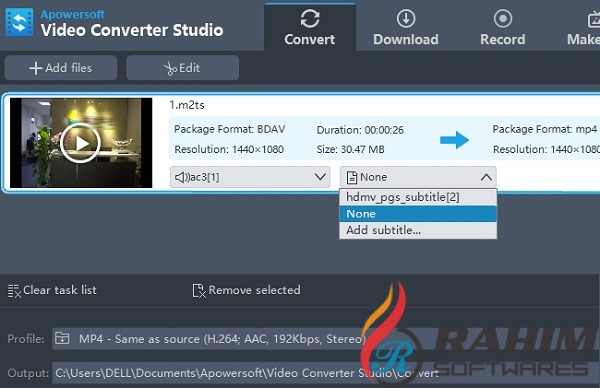 Apowersoft Watermark Remover 1.4 Portable Free Download