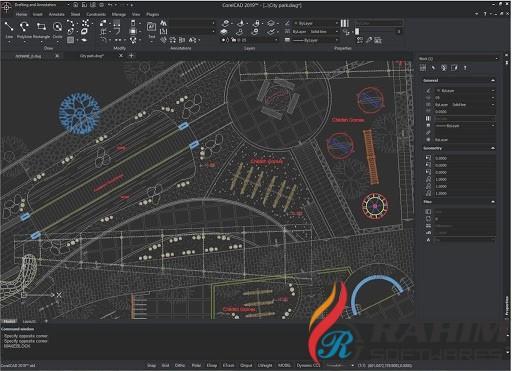 CorelCAD 2020 Portable Build 20 Free Download