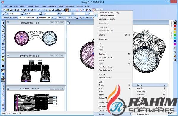 DesignCAD 3D Max 2019 Free Download