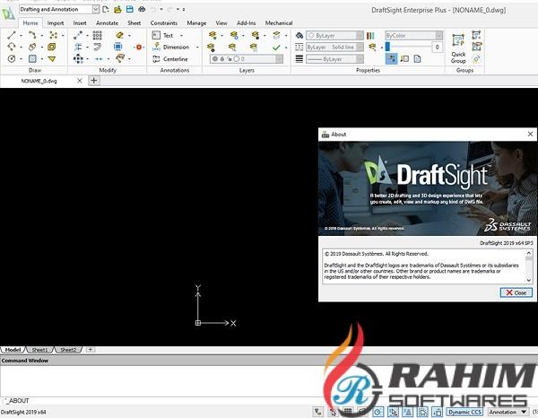 DraftSight 2020 Free Download