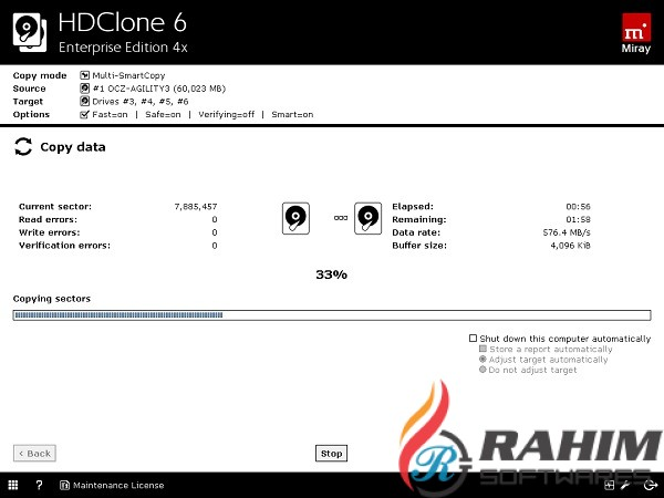 HDClone Enterprise Edition 16x Portable Free Download
