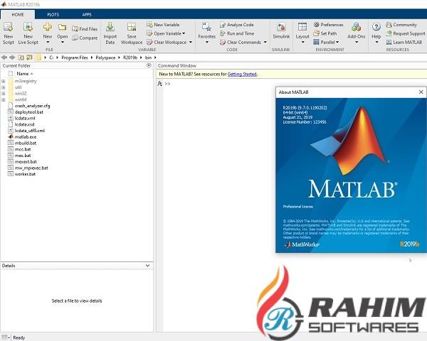 MATLAB R2020a free download