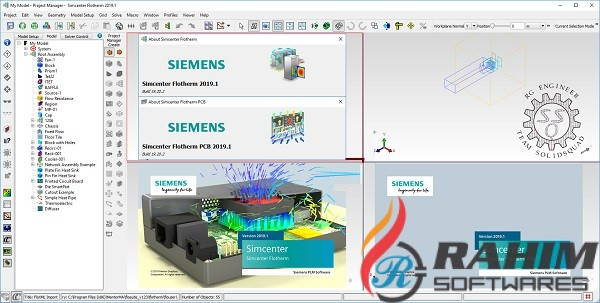 Siemens Simcenter FloTHERM XT 2019.3 Free Download
