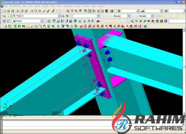 Steel & Graphics TecnoMETAL BIM Suite 2015 Free Download