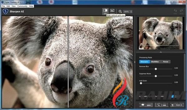 Topaz Sharpen AI 2.0.2 Free Download