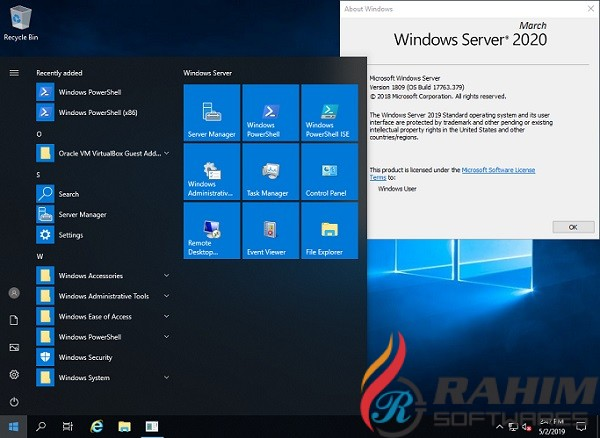 Windows Server 2016 Standard March 2020 Free Download