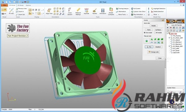 3D Tool 13.2 Free Download