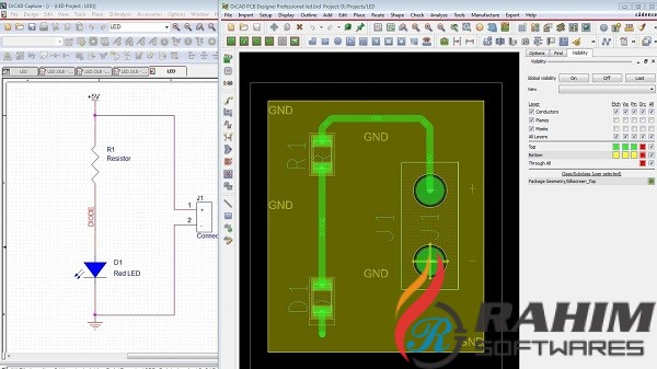 Cadence SPB Allegro and OrCAD 17.40 Free Download