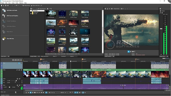 Download Movie Studio Pro 17 Free
