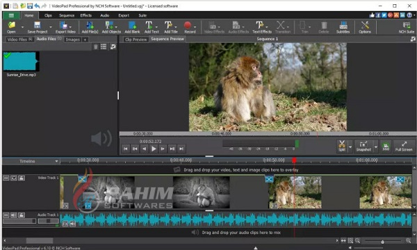 Download NCH VideoPad Video Editor Professional 8.34 Free