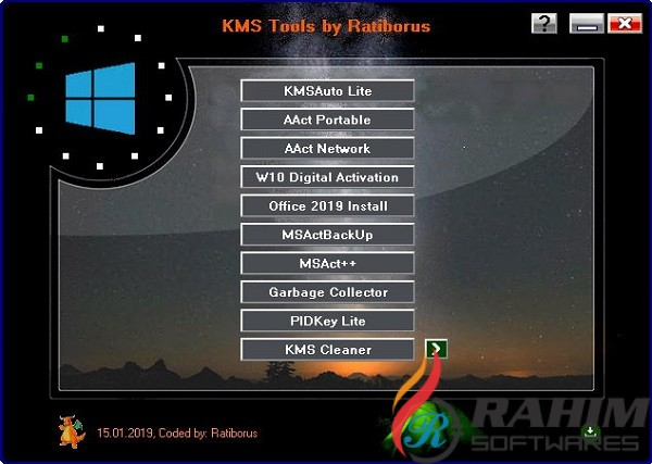 KMS Tools Portable 2020 Free Download