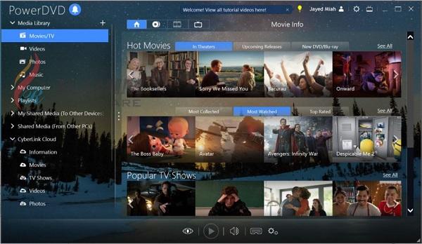 PowerDVD 20 Ultra 20 Free Download