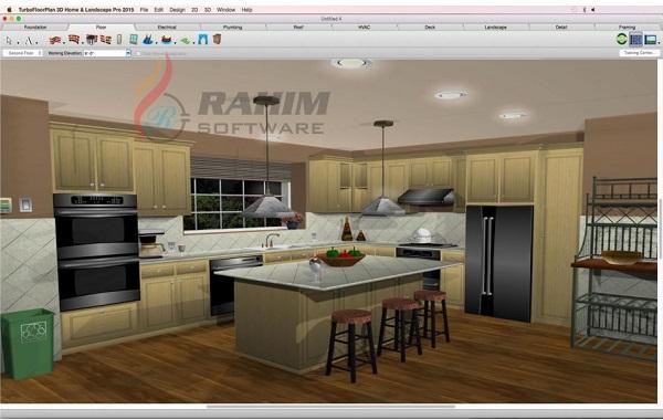 TurboFloorPlan 3D Home & Landscape Pro 2019 Free Download