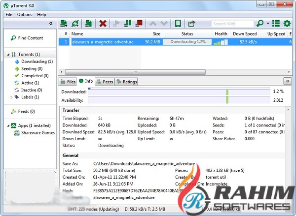 uTorrent Pro 3.5.5 Free Download