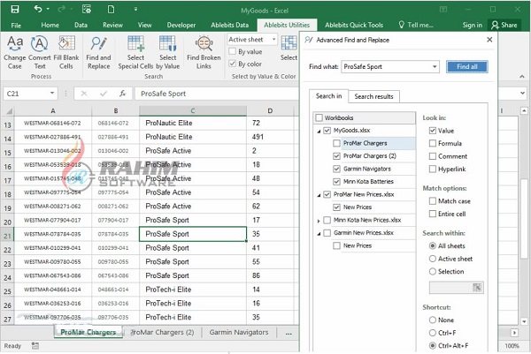 AbleBits Ultimate Suite for Excel 2020 Free Download