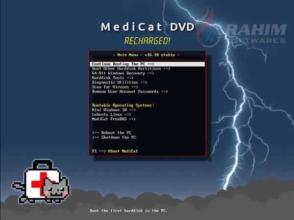 Medicat USB 19.10 free download