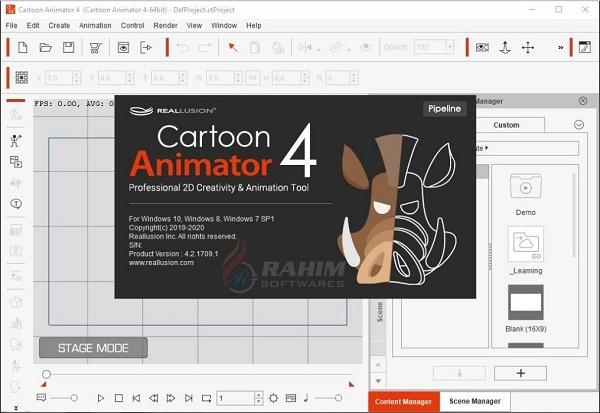 Reallusion Cartoon Animator 4.2 free download