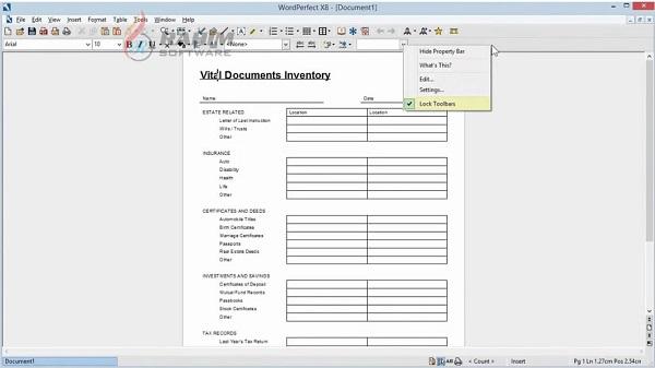 Corel WordPerfect Office Professional 2020 Free Download