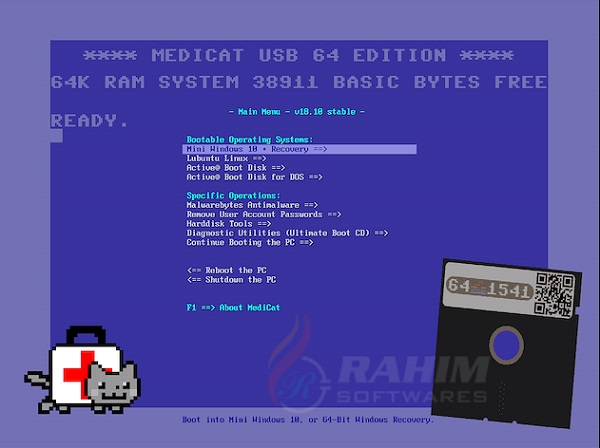 Medicat USB 20 free download