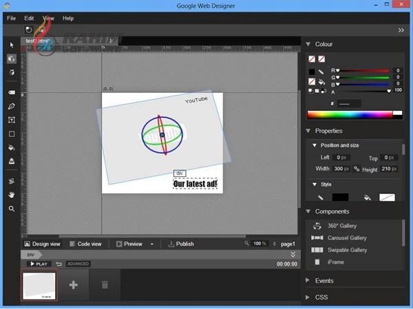 google web designer tutorial