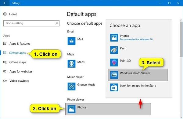 Restore Windows Photo Viewer Free Download