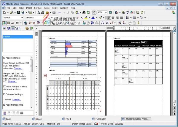 atlantis word processor portable