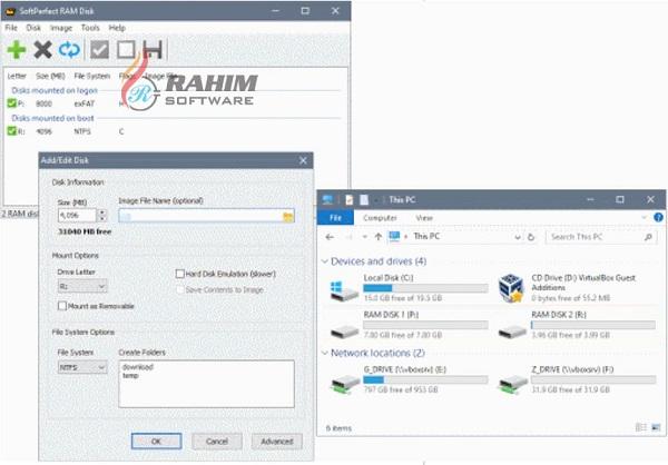 softperfect ram disk free