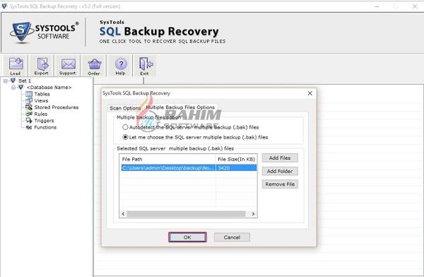 systools sql database repair
