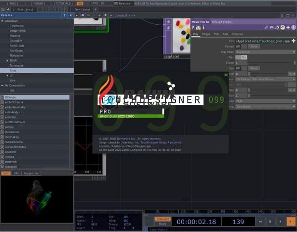 touchdesigner pro 099.2020