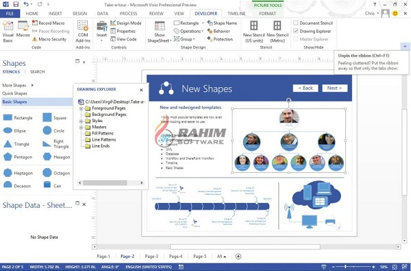 visio 2013 trial direct download