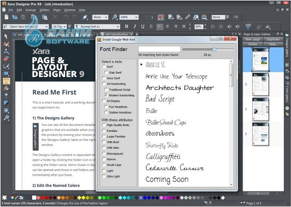 xara designer pro free download