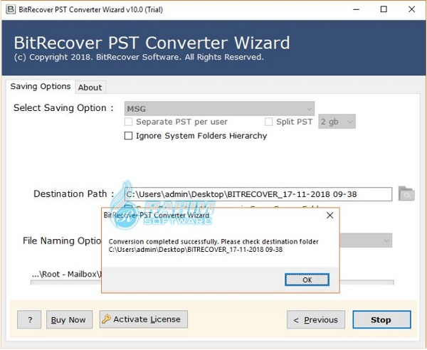 bitrecover pst converter wizard free download