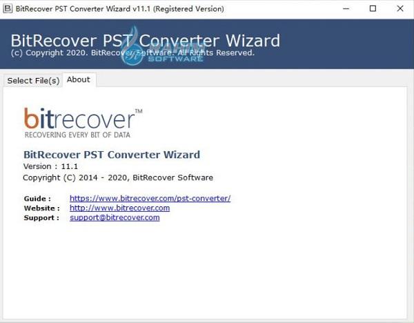 bitrecover pst unlock wizard
