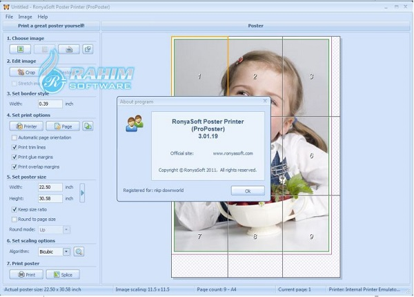 best poster printing software