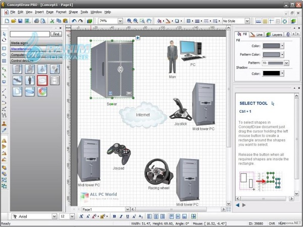 conceptdraw office free download